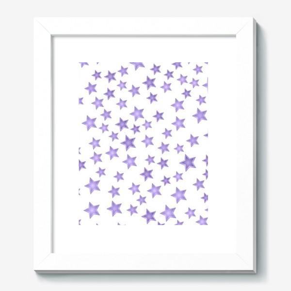Картина «Фиолетовые звезды»