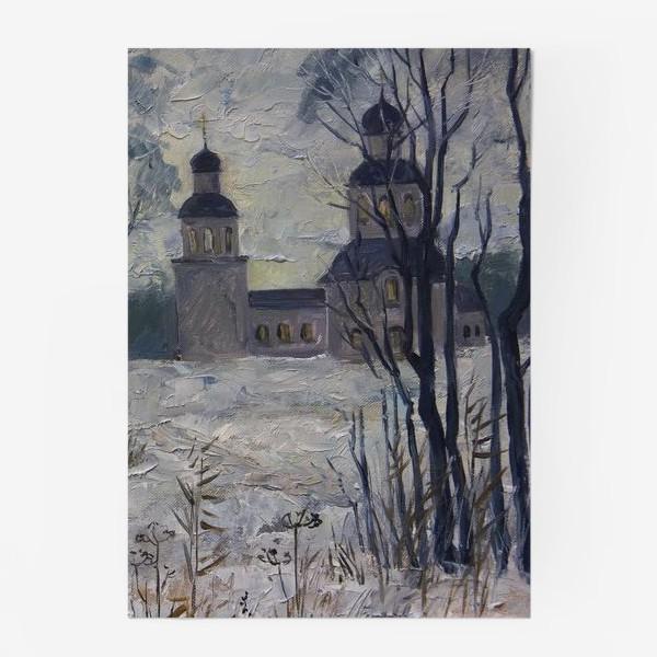 Постер «Зимнее утро»