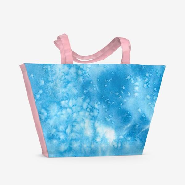 Пляжная сумка «морская пена»