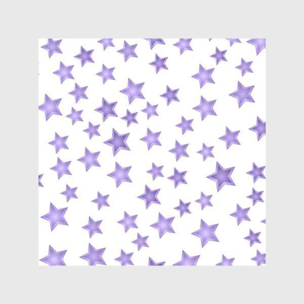 Шторы «Фиолетовые звезды»