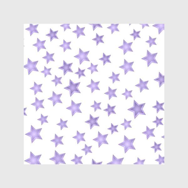 Скатерть «Фиолетовые звезды»