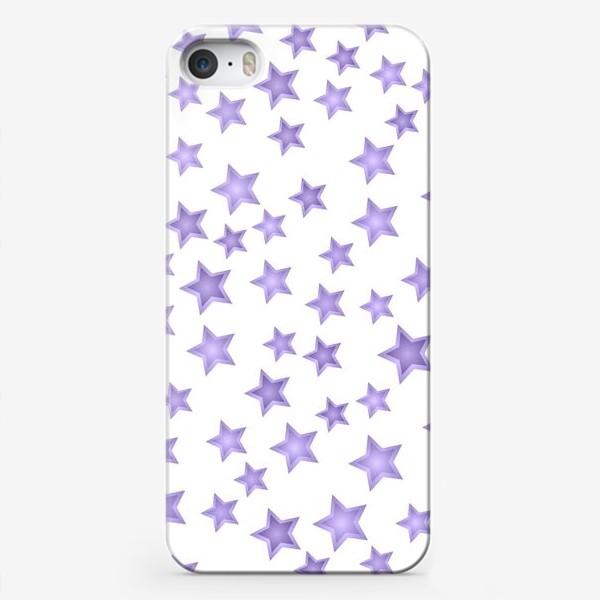 Чехол iPhone «Фиолетовые звезды»