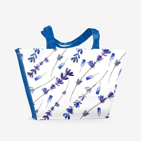 Пляжная сумка «Лавандовый сон»