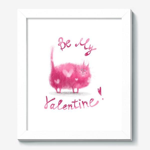 Картина «Розовый кот»