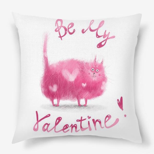 Подушка «Розовый кот»