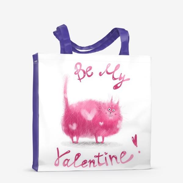 Сумка-шоппер «Розовый кот»