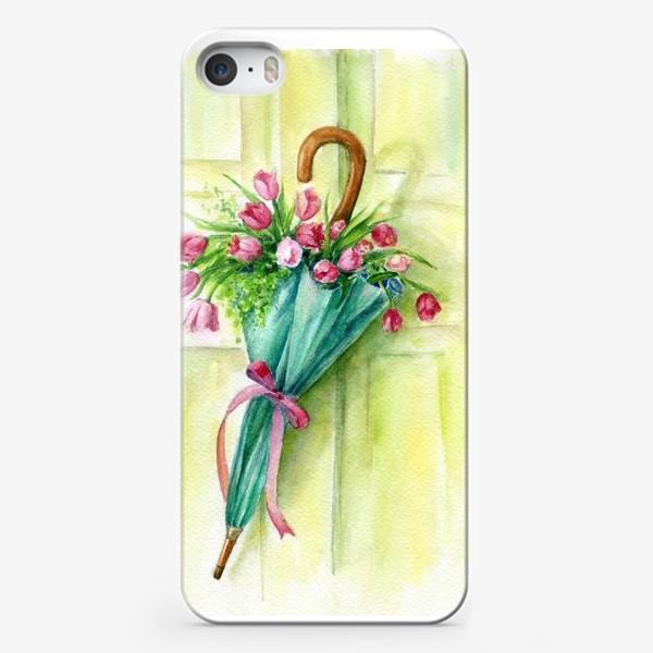 Чехол iPhone «Солнечный зонтик»