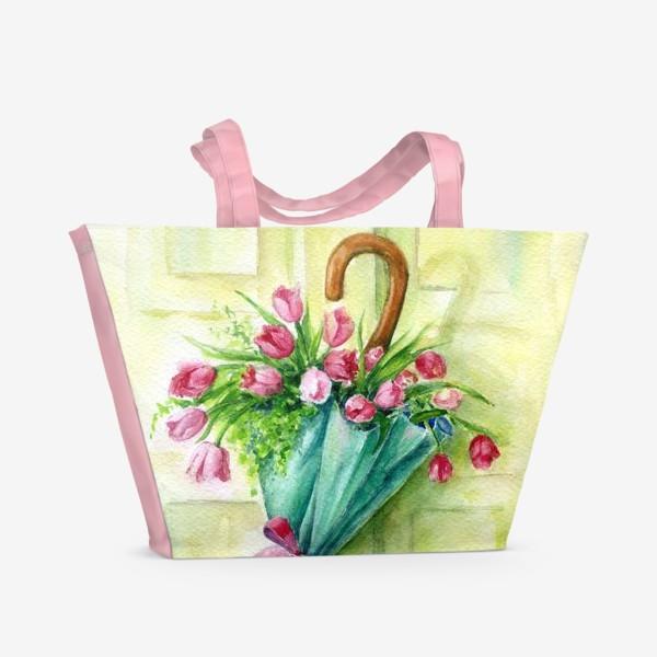 Пляжная сумка «Солнечный зонтик»
