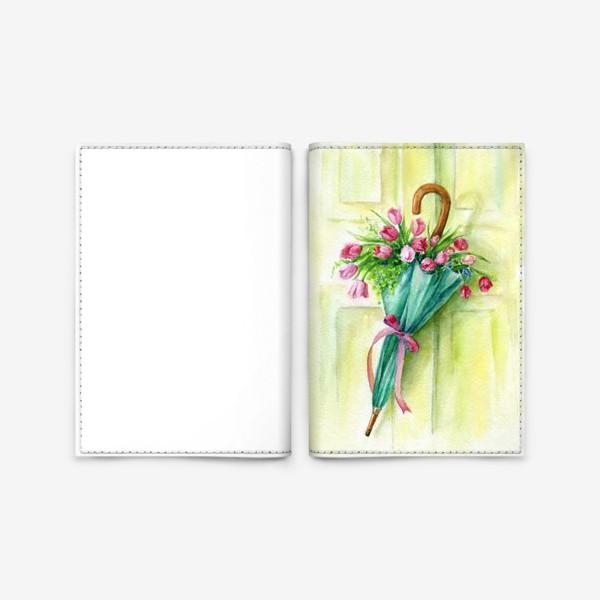 Обложка для паспорта «Солнечный зонтик»