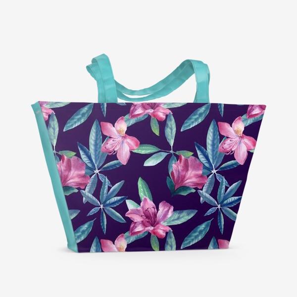 Пляжная сумка «Rhododendron»
