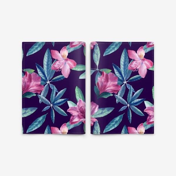Обложка для паспорта «Rhododendron»