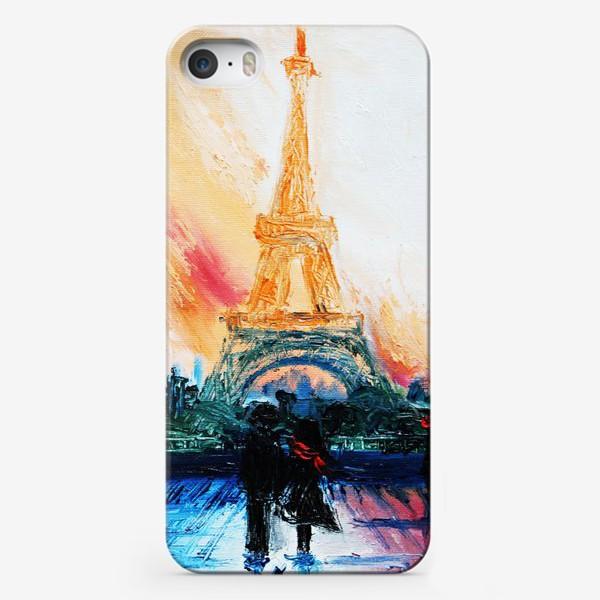 Чехол iPhone «Утренний Париж»
