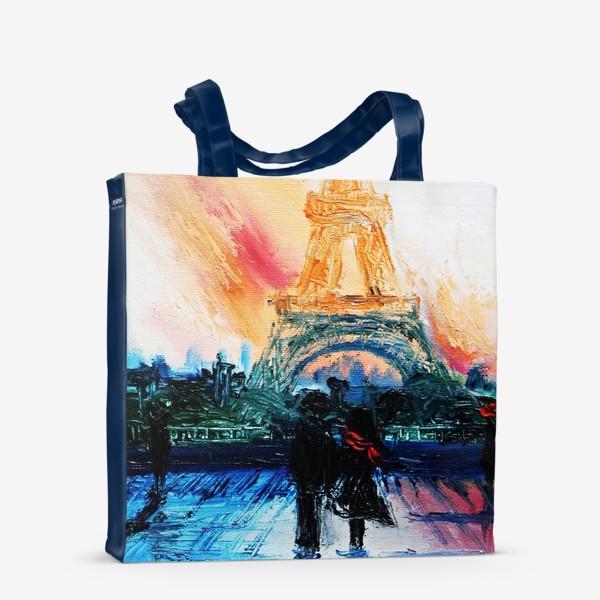 Сумка-шоппер «Утренний Париж»