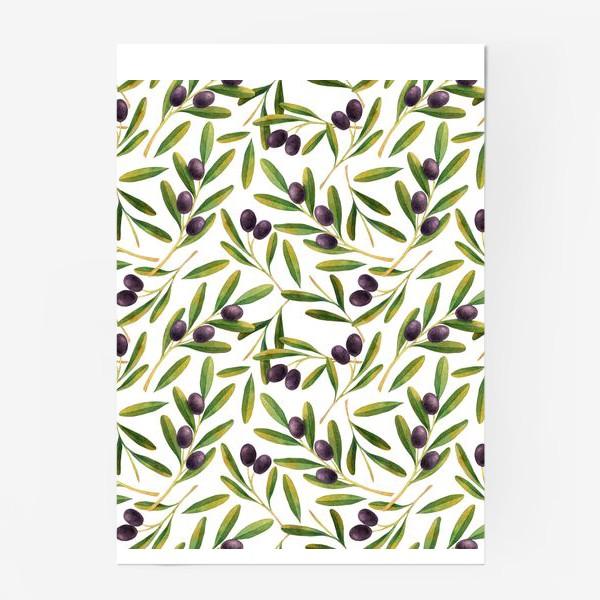 Постер «оливковая ветвь »