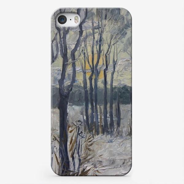 Чехол iPhone «Зимнее утро»