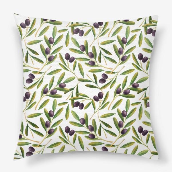 Подушка «оливковая ветвь »