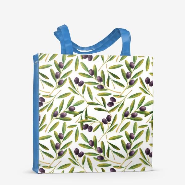 Сумка-шоппер «оливковая ветвь »