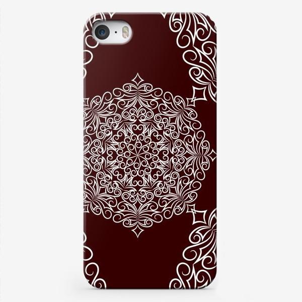 Чехол iPhone «Узор с круговым орнаментом»