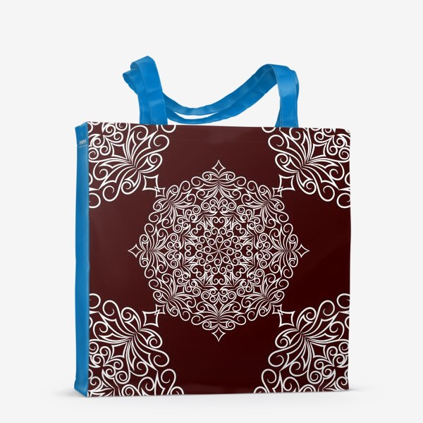 Сумка-шоппер «Узор с круговым орнаментом»