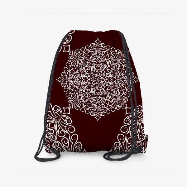 Рюкзак «Узор с круговым орнаментом»