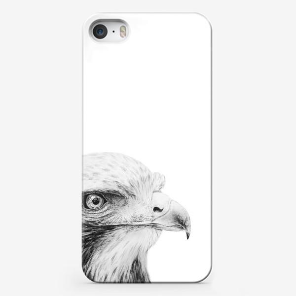 Чехол iPhone «Орел - гордая и красивая птица!»