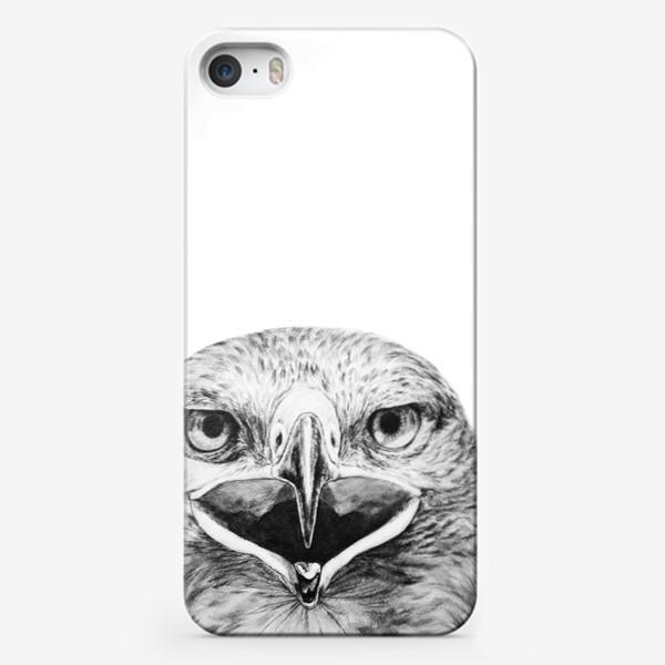 """Чехол iPhone «Принт """" Хищная птица Орел""""»"""