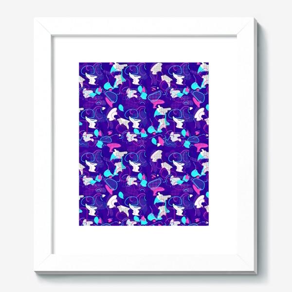 Картина «Паттерн абстракция пятна кляксы линии»