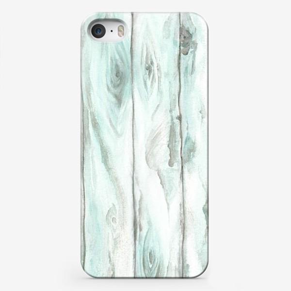 Чехол iPhone «Старое дерево. Бирюзовый»
