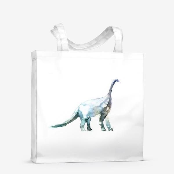 Сумка-шоппер «Динозавр. Акварельная серия животных.»
