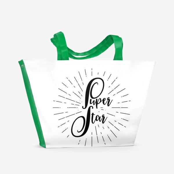 Пляжная сумка «Super Star»