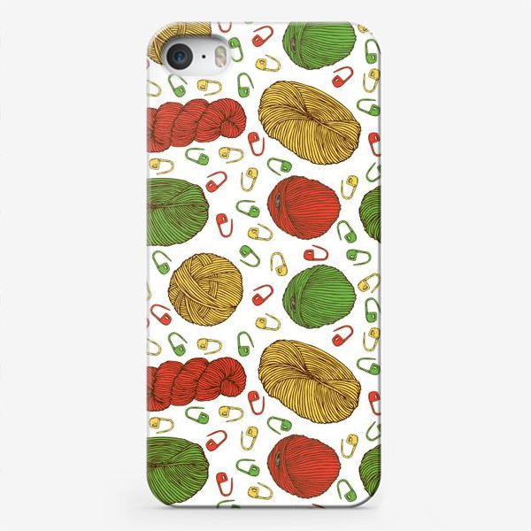 Чехол iPhone «Вязание»