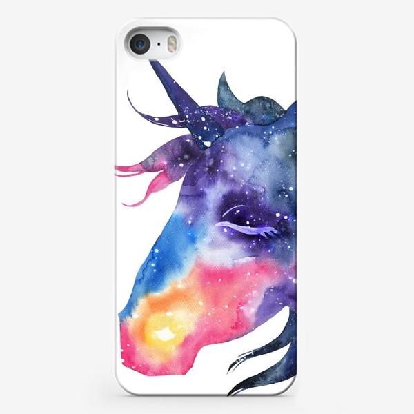 Чехол iPhone «Космический единорог»