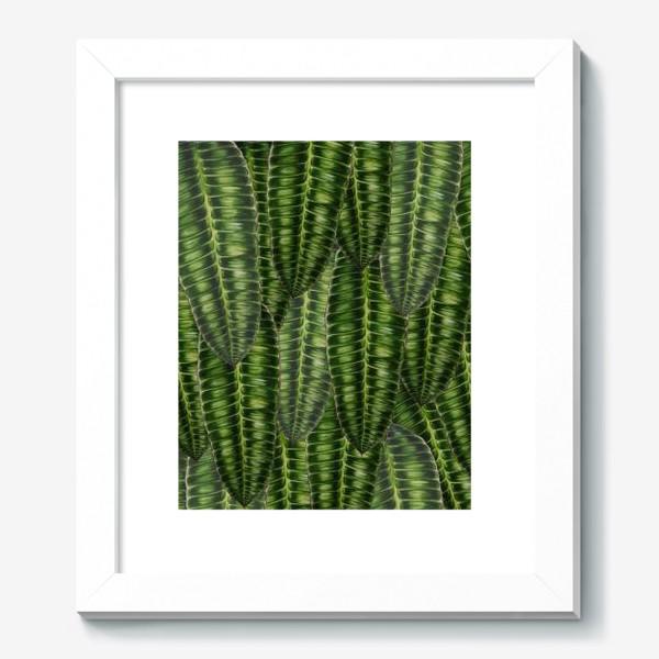 """Картина «Ботаника """" Темно-зеленые листья""""»"""