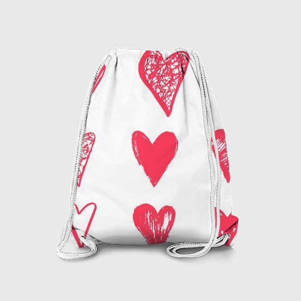 Рюкзак «Сердце и любовь»