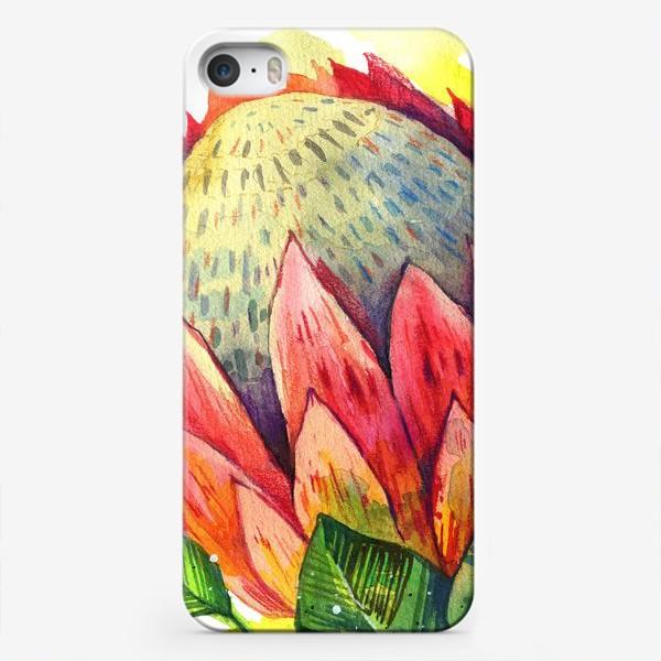 Чехол iPhone «Цветок протеи»