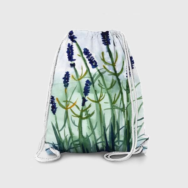 Рюкзак «Фиолетовые цветы»