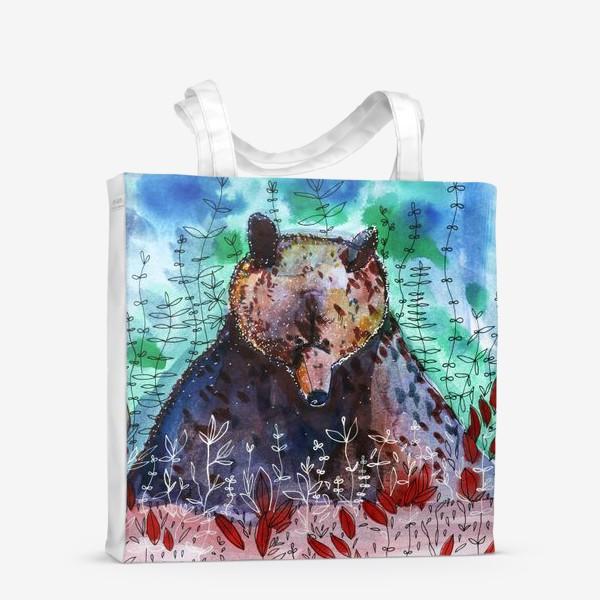Сумка-шоппер «Добрый медвежонок»