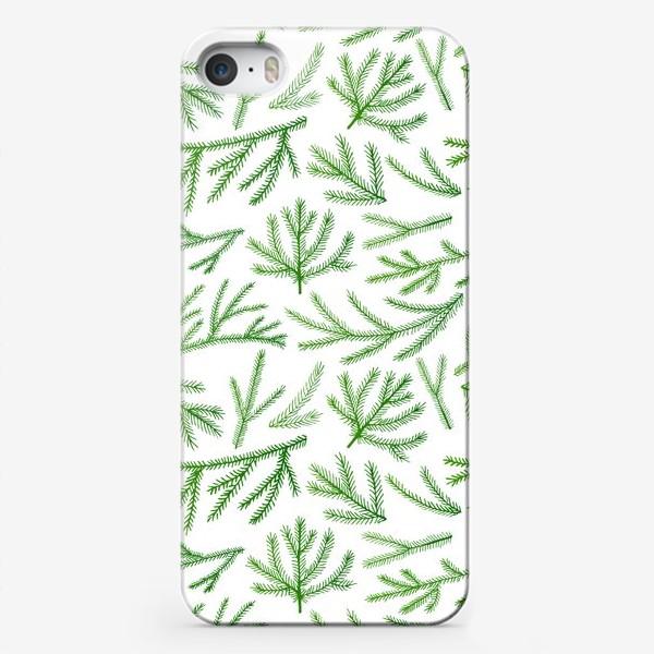 Чехол iPhone «Еловые лапки»