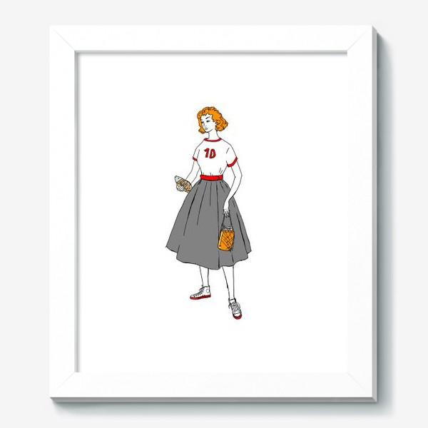 Картина «девушка с пивом»