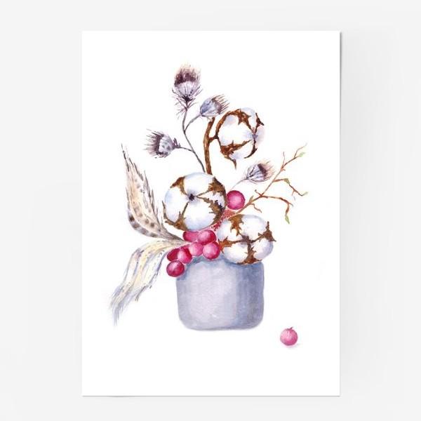 Постер «Хлопок, перышки, весна»