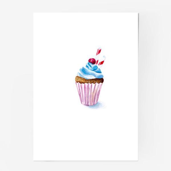 Постер «Пироженое или капкейк»