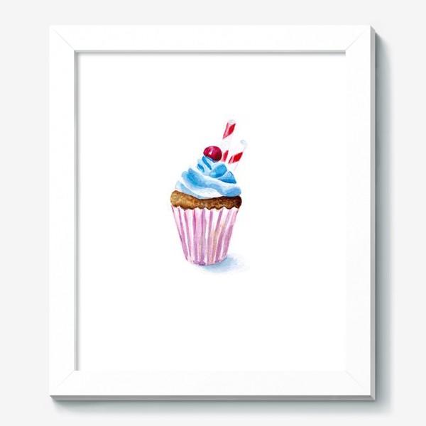 Картина «Пироженое или капкейк»