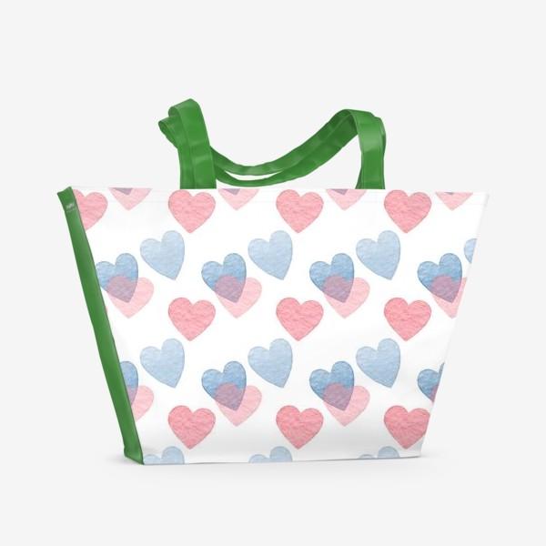 Пляжная сумка «Sweet heart»