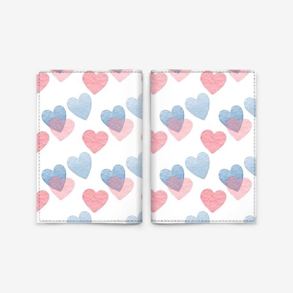 Обложка для паспорта «Sweet heart»