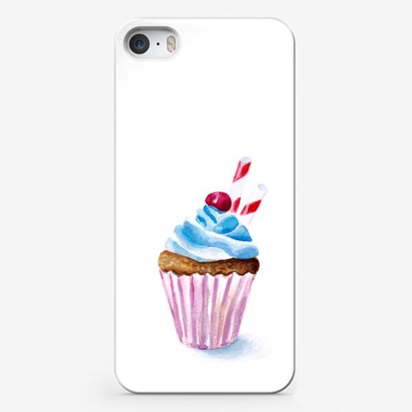 Чехол iPhone «Пироженое или капкейк»