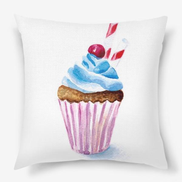 Подушка «Пироженое или капкейк»