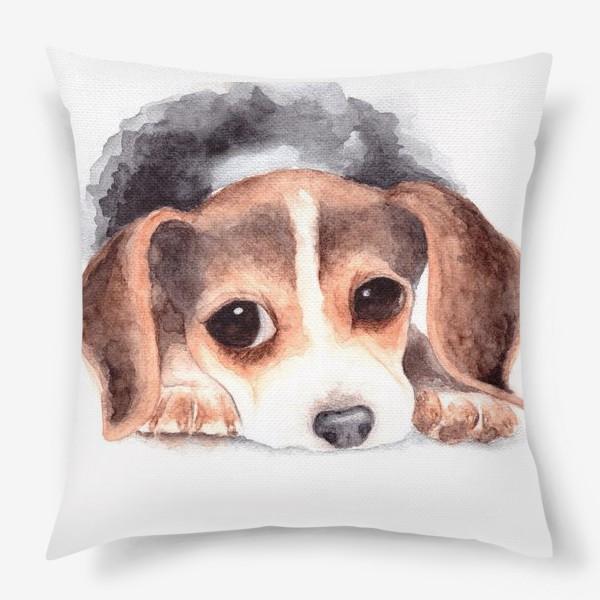 Подушка «Щенок бигль»