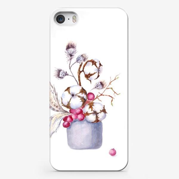 Чехол iPhone «Хлопок, перышки, весна»
