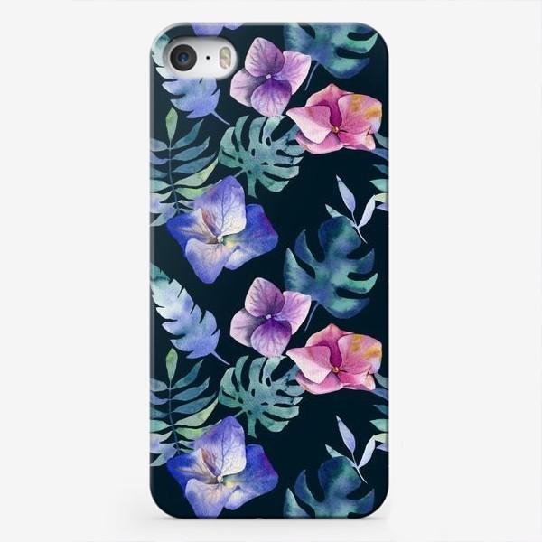 Чехол iPhone «Hydrangea pattern»