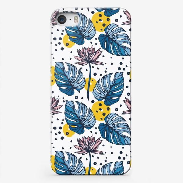 Чехол iPhone «Лотосы»